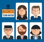 商务团队人物头像