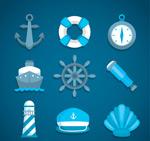 航海图标矢量