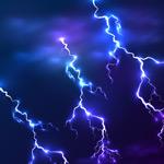 雷电矢量素材