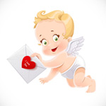 拿情书的天使