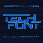 科技大写字母
