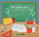 教师节办公桌