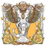 大象手绘装饰画