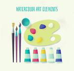 水彩绘绘画工具