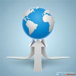 立体箭头和地球