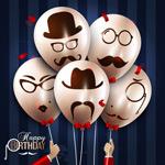 创意生日气球束