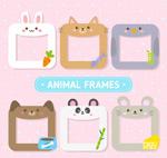 动物框架矢量