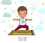 练瑜伽的男子