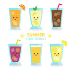 夏季饮品表情