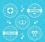 潜水俱乐部标志