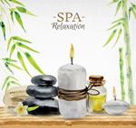 水彩spa用品