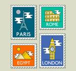 世界旅行邮票