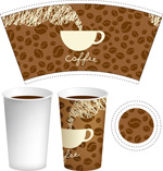 咖啡杯子包装