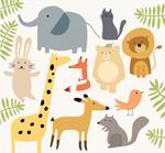 简洁可爱动物