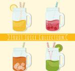 美味水果汁设计