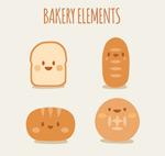 可爱面包表情