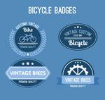 复古系列单车徽章