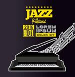 爵士乐音乐节海报