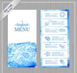 海鲜店菜单设计