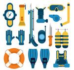 潜水装备元素