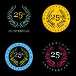 25周年纪念徽章