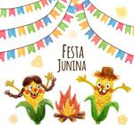 巴西六月节贺卡