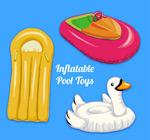 游泳池充气玩具