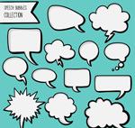 漫画风格语言气泡