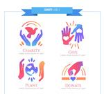慈善元素标志