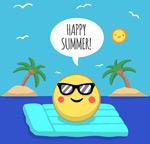 度假的夏日太阳