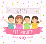 卡通国际友谊日