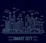智慧城市建筑风景