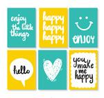 快乐元素卡片