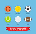 彩色奥运会球类