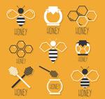 蜂蜜元素图标