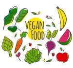 彩绘素食蔬果