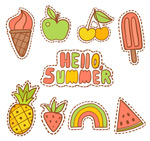 夏季补丁徽章
