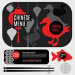 鸡鸭鱼肉美食主题