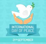 国际和平日贺卡