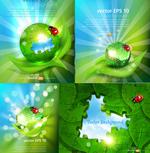 生态绿色创意海报