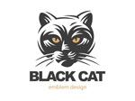 黑猫主题标志