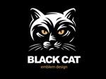 黑猫元素标志