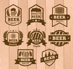 优质啤酒徽章