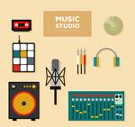 音乐工作室器材