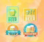 绘手工啤酒标签