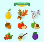 美味秋季食物