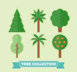 创意绿色树木