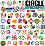 创意圆圈信息图