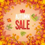 创意秋季促销海报