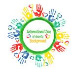 国际慈善日手印